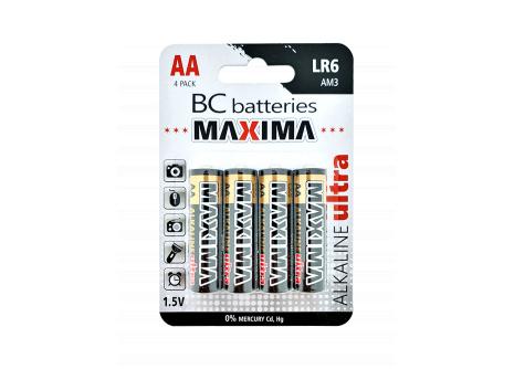 BC batteries MAXIMA alkalická AA mikrotužková baterie 1,5V LR6