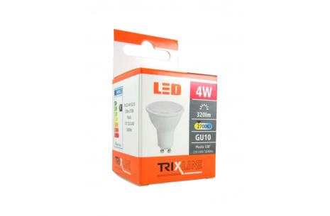 LED žárovka BC TR 4W GU10 teplá bílá