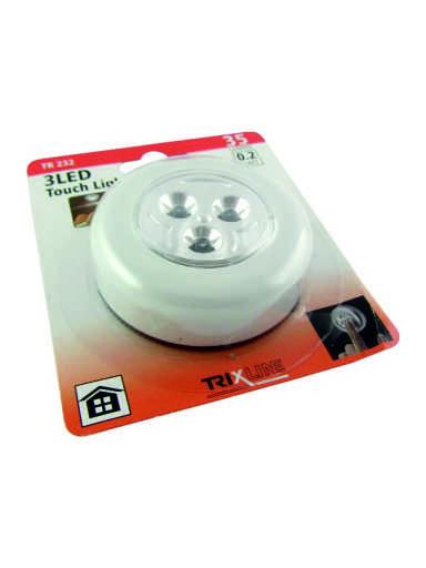 LED noční dotykové světlo TR 232, bílé