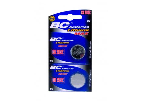 Lithiová knoflíková 3V baterie BC batteries CR2032