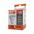 LED žárovka Trixline 7W GU10 teplá bílá