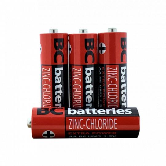Zinkochloridová 1,5 tužková baterie R6/20P