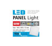Podhľadový LED panel TRIXLINE - 60W studená biela