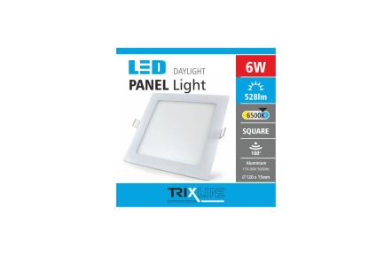 Podhledové LED svítidlo TRIXLINE – čtvercové 6W denní světlo