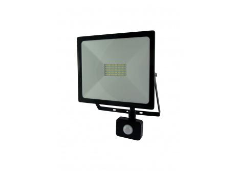 Trixline LED reflektor s pohybovým senzorem 50W studená bílá