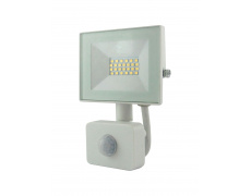 BC 10W LED FLOOD LIGHT 4200K SENSOR WHITE