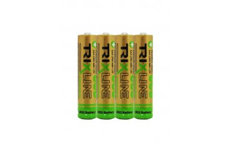 Alkalická mikrotužková 1,5V baterie BCRL03/4P TRIXLINE
