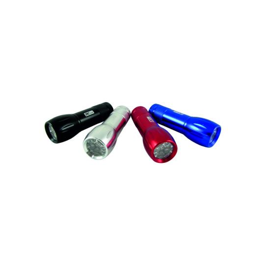LED hliníková ruční svítilna BCS 193 9 LED