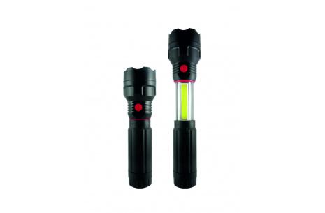 LED teleskopická svítilna TR C224 3W COB + 3W