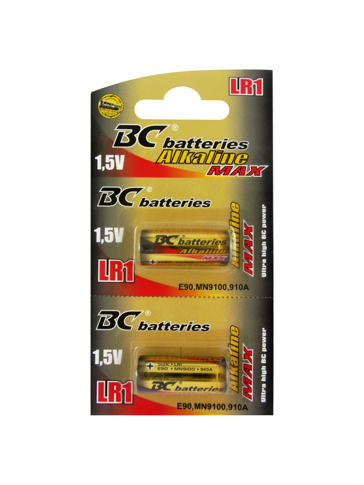 Alkaline 1,5V cylinder battery BCLR1/2BP