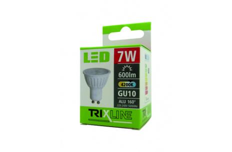 LED žárovka BC TR 7W GU10 studená bílá
