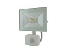 BC 20W LED FLOOD LIGHT 4200K SENSOR WHITE