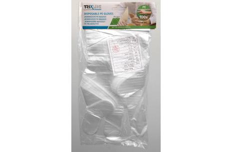 Jednorázové PE rukavice Trixline TR  392 vel. L