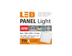 Podhľadový LED panel TRIXLINE - 40W teplá biela
