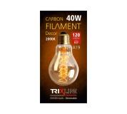 Dekorační stmívatelná žárovka Trixline 40W E27 (A19-S24)