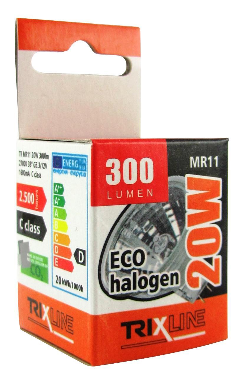 Halogenová bodová žárovka BC MR11/C 20W 12V teplá bílá