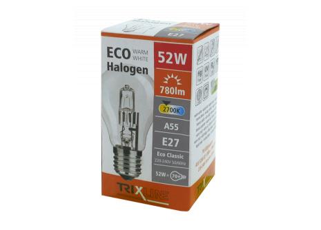 Halogenová žárovka BC 52W E27 teplá bílá