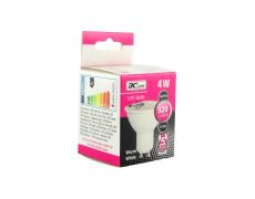 LED žárovka 4W GU10 teplá bílá 5 let záruka