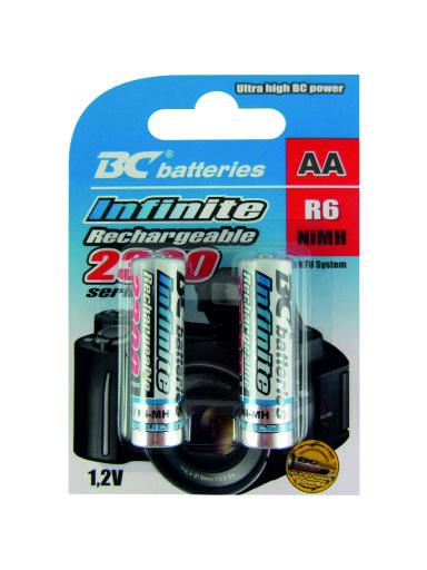 Nabíjecí 1,2V tužková baterie BCR6/2300/2BP RTU Infinite