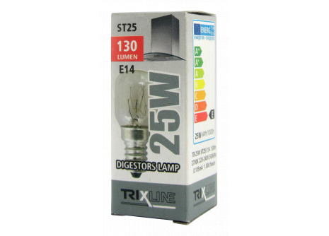 Speciální žárovka Trixline ST25, 25W E14