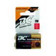 BC batteries Extra power alkalická baterie 9V 6LR61