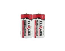 Zinkochloridový malý 1,5V monočlánek BC R14/2P TRIXLINE Extra power
