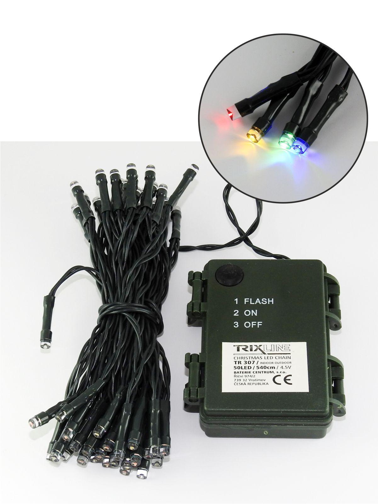 Vánoční LED řetěz trixline