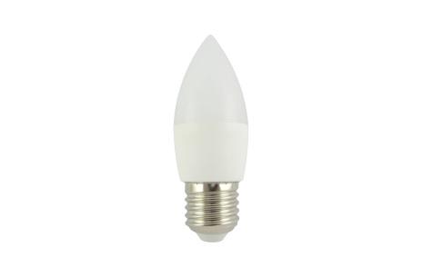 LED žárovka 4W C35 E27 teplá bílá