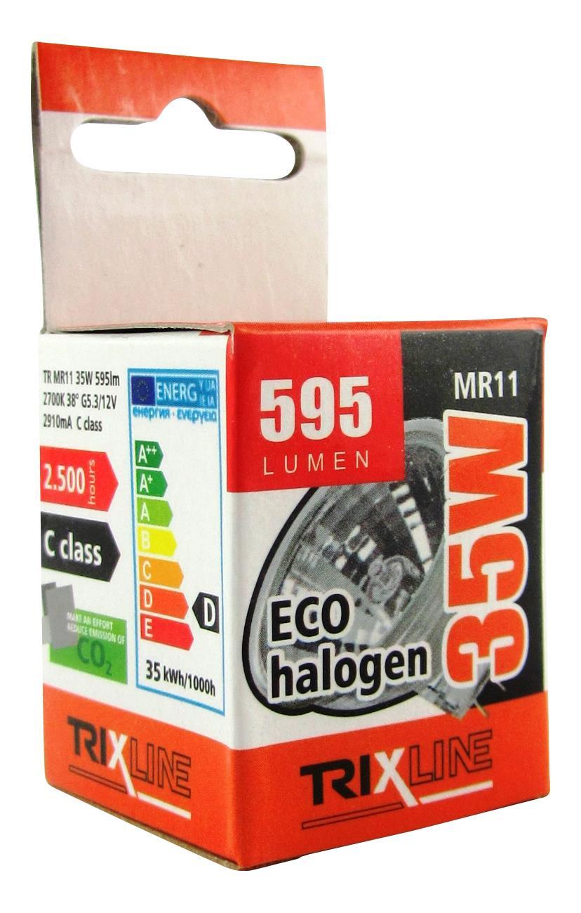 Halogenová bodová žárovka BC MR11/C 35W 12V teplá bílá