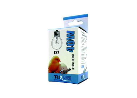 Speciální žárovka Trixline G45, E27 teplá bílá