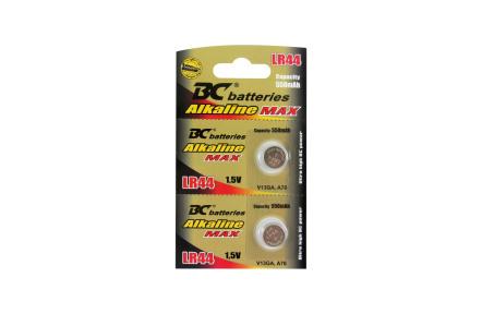Alkalická 1,5V knoflíková baterie BCLR44/2BP