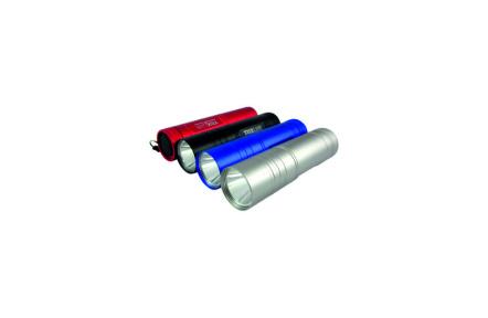 LED hliníková ruční svítilna BCS 192 1LED 0,5W