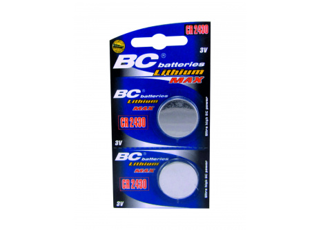 Lithiová knoflíková 3V baterie BC batteries CR 2450