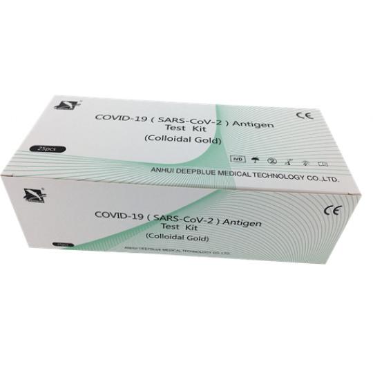 ANTIGEN SALIVA Antigén Teszt Kit  COVID-19 25db