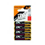 BC batteries Extra power alkalická AA tužková baterie 1,5V LR6