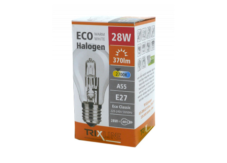 Halogenová žárovka BC 28W E27 teplá bílá