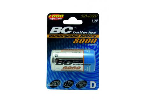 Nabíjecí baterie BC Batteries 1,2V R20