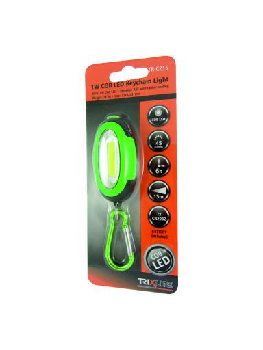 LED svítilna s karabinou TR C215 1W COB