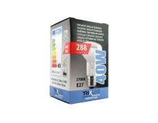 Speciální žárovka BC R63 40W E27 teplá bílá