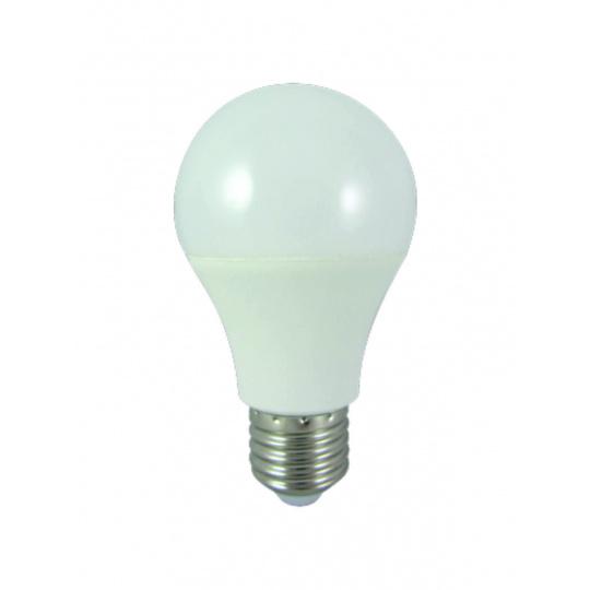 LED žárovka 8W E27 A60 denní světlo