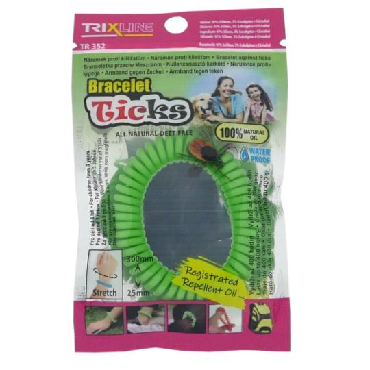 Odstraszająca bransoletka przeciw kleszczom Ticks