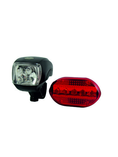 Sada LED světel na kolo TR C244
