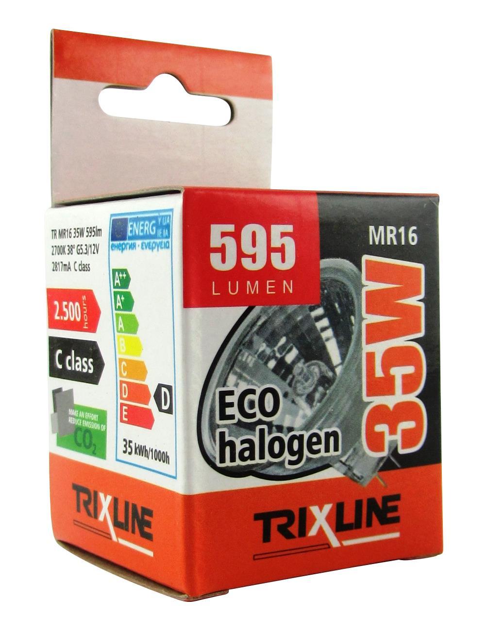 Halogenová bodová žárovka BC MR16/C 35W 12V teplá bílá