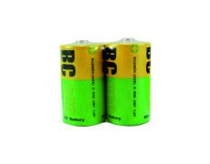 Zinkochloridový velký 1,5V monočlánek BC R20/2P BC ECO