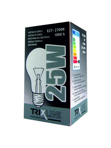 Speciální žárovka BC 25W E27 teplá bílá