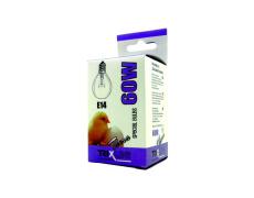 Speciální žárovka BC G45W E14 teplá bílá