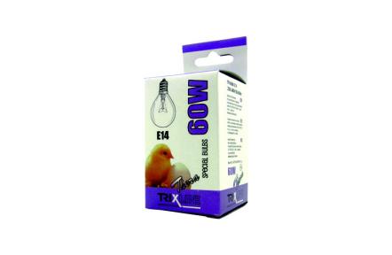 speciális izzó BC G45W E14 meleg fehér