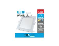 Podhledové LED svítidlo TRIXLINE – čtvercové 12W denní světlo