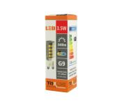 LED žiarovka BC TR 3,5W G9 teplá biela