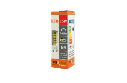 LED žárovka BC TR 3,5W G9 teplá bílá